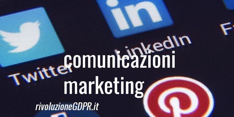 comunicazioni marketing