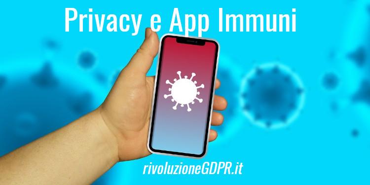 privacy e app immuni